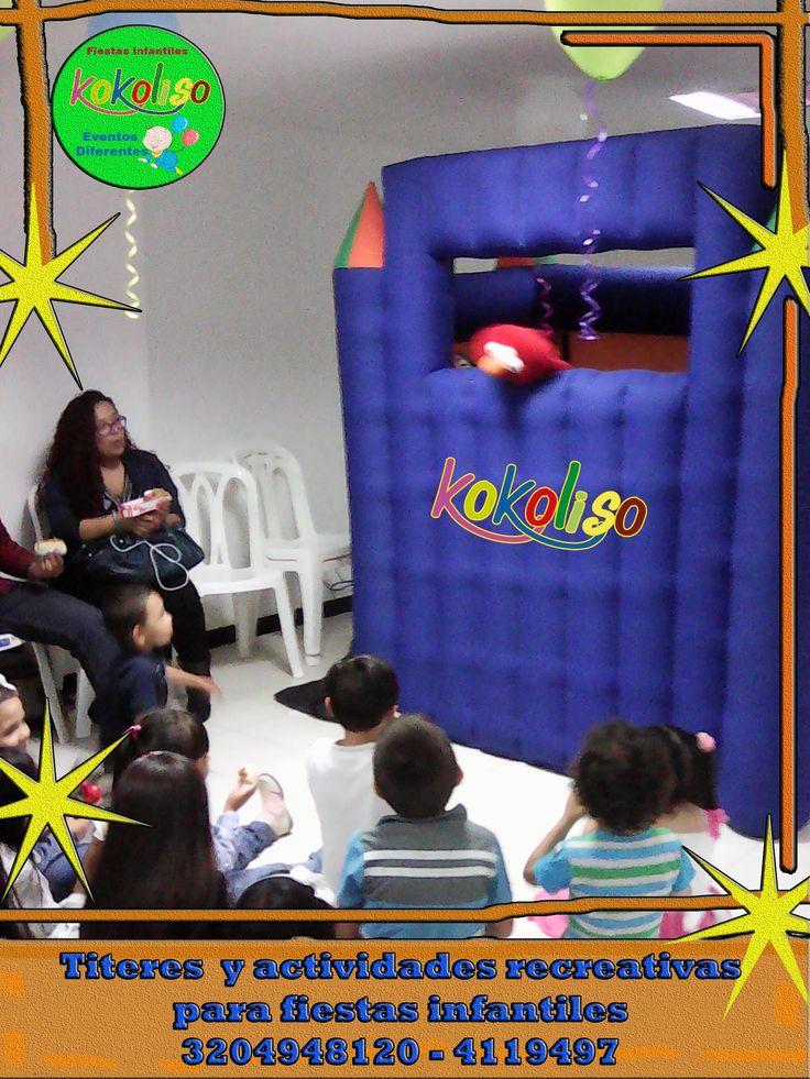 Tenemos los mejore títeres  para que celebres tus cumpleaños con una estupenda fiesta infantil 3204948120-4119497 http://goo.gl/6p4yqZ