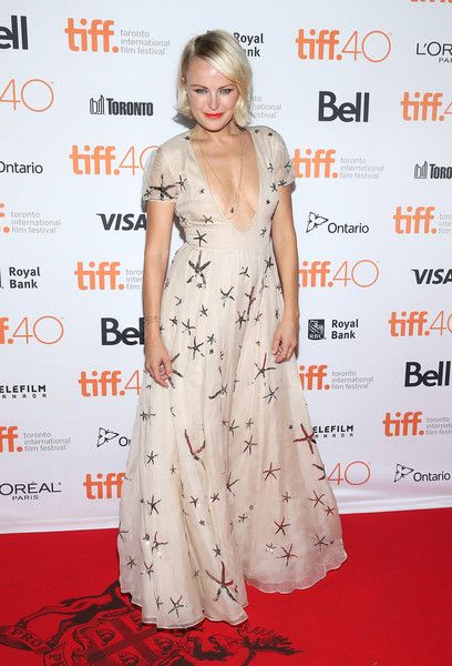 """Malin Akerman Photos - Actress Malin Akerman attends the """"Final Girls"""" photo call during the 2015 Toronto International Film Festival at the Ryerson Theatre on September 19, 2015 in Toronto, Canada. - 2015 Toronto International Film Festival - 'The Final Girls' Photo Call"""