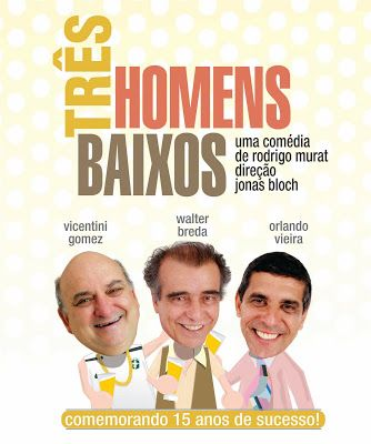 VISUAL ARTV: VISAUAL ARTV - TEATRO SANTO AGOSTINHO - Três Homen...