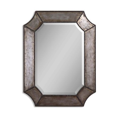 Elliot Mirror Uttermost Octagon Mirrors Home Decor