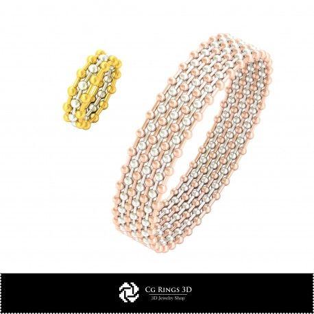 3D CAD Jewelry Set