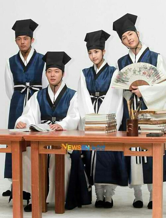 Sungkyunkwan Scandal <3 it Moon Jae Shin.second lead in this and did an amazing job great drama and great character