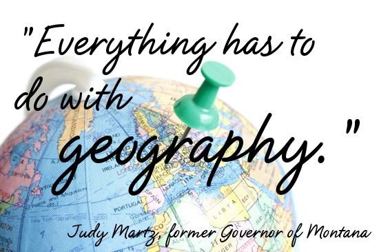 Geography is Everywhere: Quotes about Geography Series