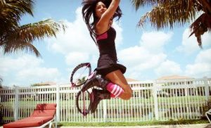 Groupon - Three or Six Kangoo Jump Classes with Boot Rental from Just Bounce Inc. (Up to76% Off) in Wellington. Groupon deal price: $20