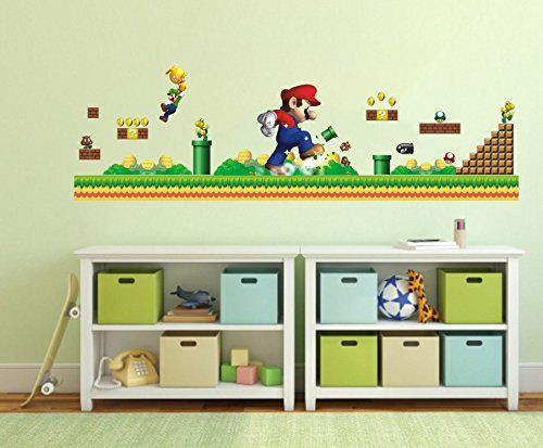 132 Best Super Mario Images On Pinterest | Mario Room, Mario Brothers And  Kids Rooms Part 24