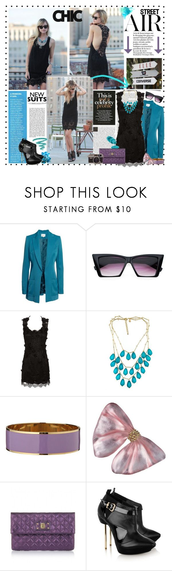 """Late Afternoon ;)"" by ellchy89 ❤ liked on Polyvore featuring Reiss, Pointer, Dolce&Gabbana, Roberta Chiarella, Marc Jacobs, Versace and Yves Saint Laurent"