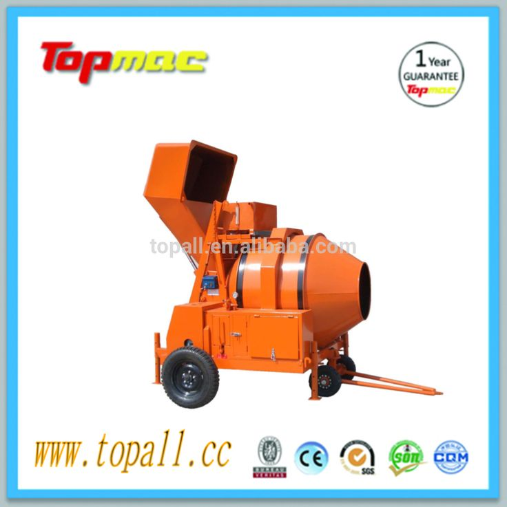 Containerized used concrete mixer for sale Kenya Market mixer concrete portable concrete mixer