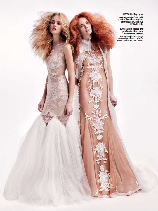 New exquisite @madamefigarogr bridal editorial featuring #christoscostarellos bridal gowns! We luv it! :)  photo @nikolbartzoka style @bettypetkoglou  #costarellosbride #madeingreece #springsummer15 #newcollection #springfling #springawakening #springsummer2015 #springsummercollections #springtime #spring2015 #springfashion #springsummer2015collection #spring #newcollection2015  #bridalweek #bridalmarket #bridalfashionweek #bridalfashion #nybw #nybfw #nybridalweek #newyork #nyc…