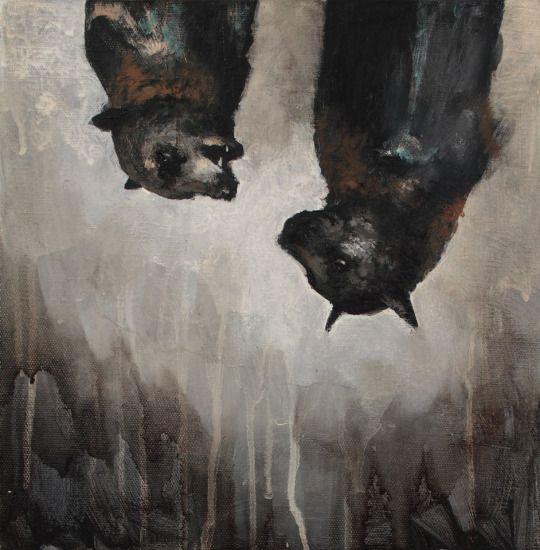Samuli Heimonen: Putoavat sanat (Falling words), 2014.