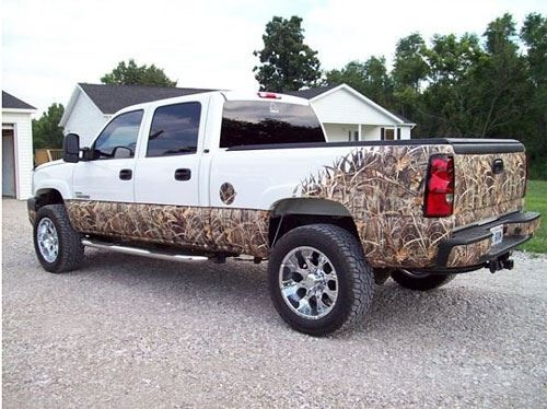 This truck but black instead of white>>> #dream