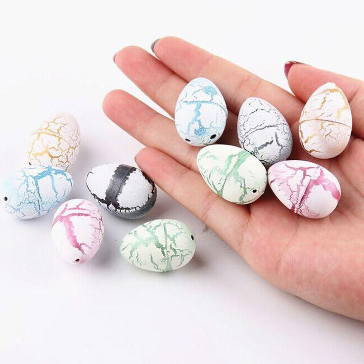 2 шт./лот новинка воды штриховка инфляция яйца динозавров игрушки сюрприз яйца развивающие игрушки интересный подарок розыгрыши яйцо