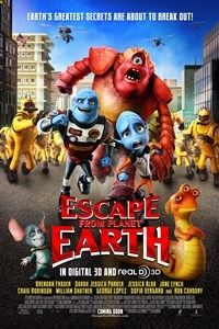 Escape From Planet Earth Rate PG 9:40AM 1:30PM 6:30PM