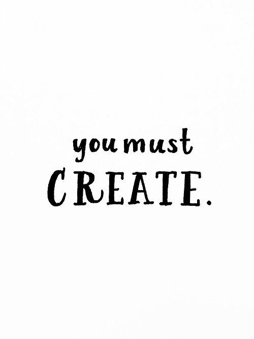 we must create. // pilot g2 pen