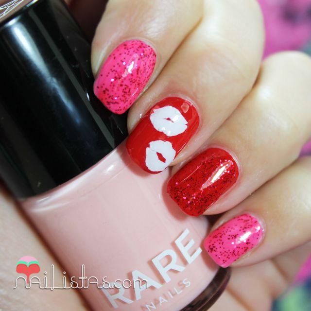 282 best images about nailistas on pinterest nail art - Unas decoradas con esmalte ...