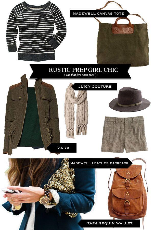 Style Recipe: Rustic Prep Girl Chic — Pretty Shiny Sparkly