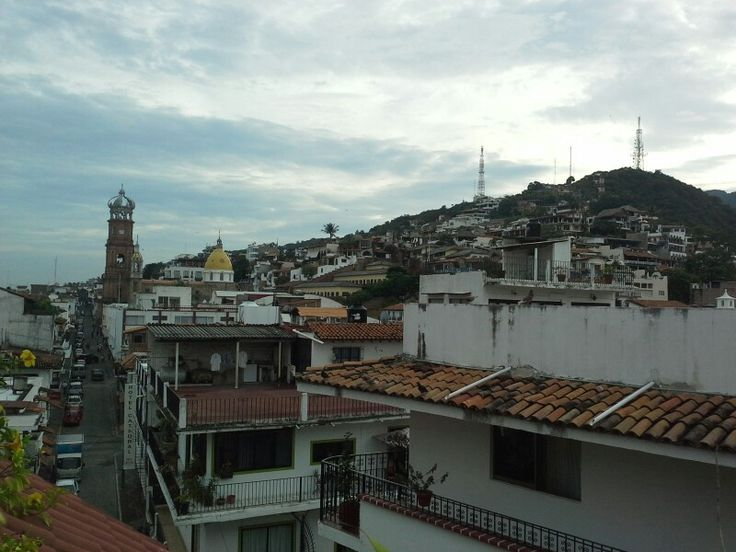 Old Town Puerto Vallarta from breakfast table