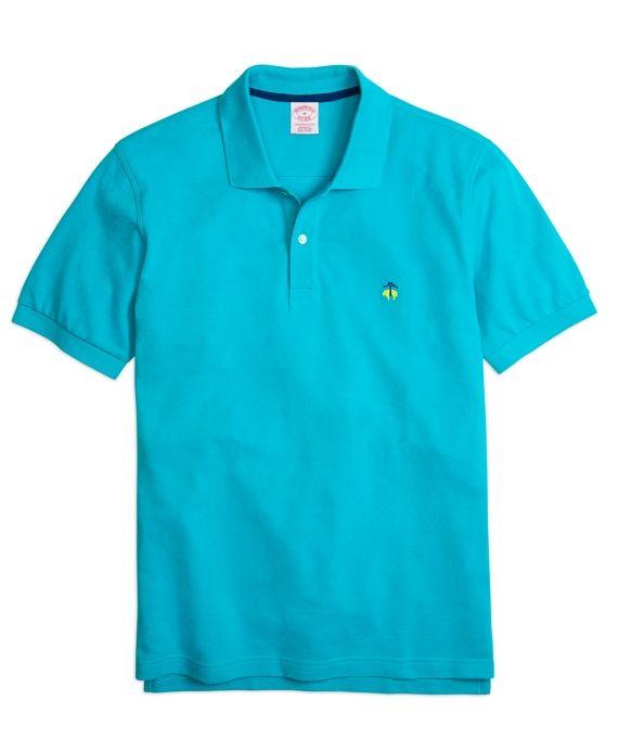 Golden Fleece® Original Fit Performance Polo ShirtCaneel Bay Blue
