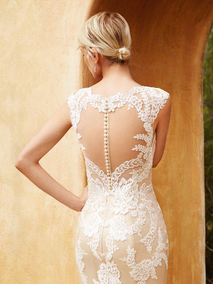 Beautiful 2016, BT16-4 alternate view - Enzoani 2016 Wedding Dresses | itakeyou.co.uk #weddinggown #bridal #wedding