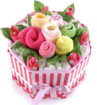 Baby Bouquets Baby Bouquet Pinks My Baby Gifts