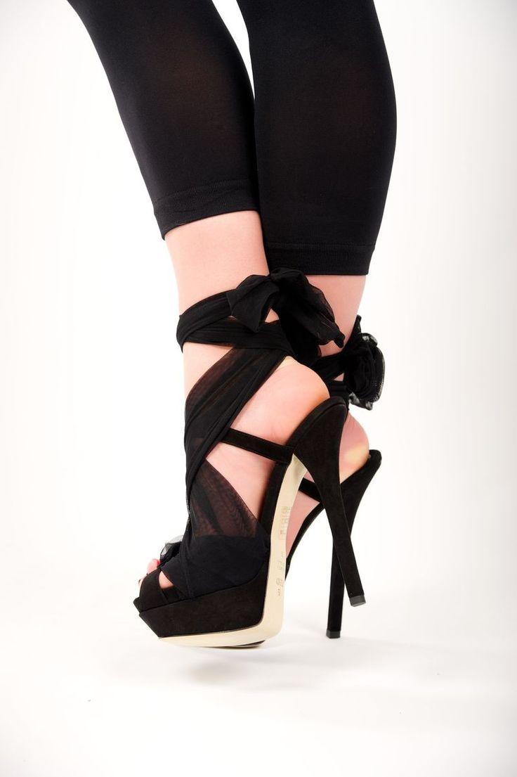 Fendi ~ Cinderella Platform Sandals. Because every girl needs a pair of Cinderella shoes.