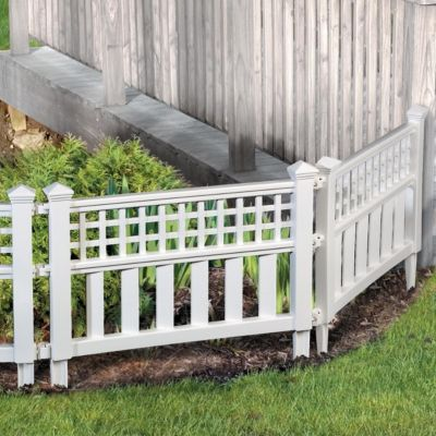 6 39 15 Above Ground Decorative Garden Fencing 18 At Walmart My V