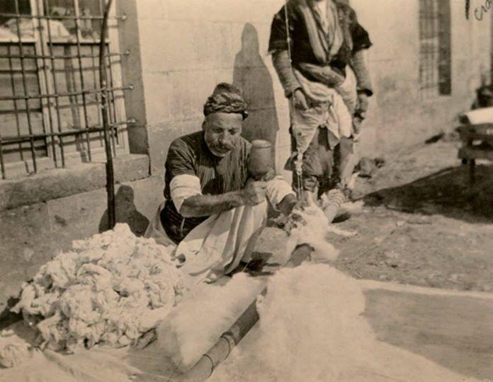 Pambıkcı (Hallaç)- 1900' ler