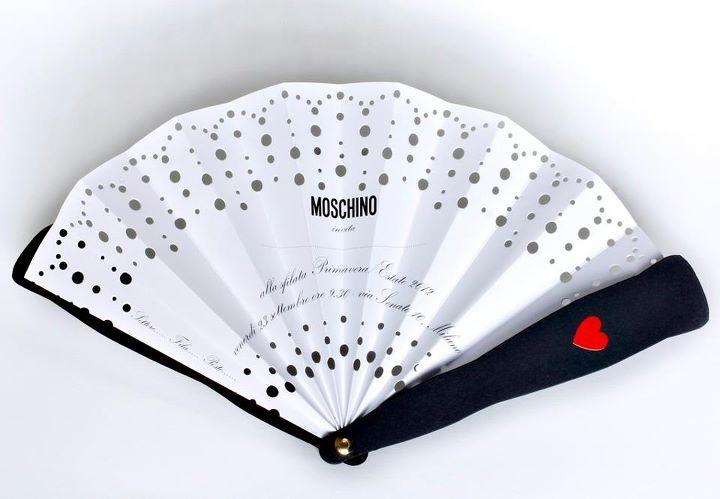 Moschino invitation