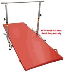 "Gymnastics Apparatus Adjustable Horizontal Bars - 45"" Free Standing Horizontal Bar - Galvanized - GY862M"