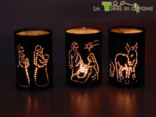 Creative Nativity set