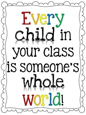 During new-hire orientation, it was explained to me that every child is someone's bag of diamonds.