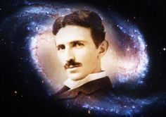 frases de Nikola Tesla. «Si lo que quieres es encontrar los secretos del universo, piensa en términos de energía, frecuencia y vibración».