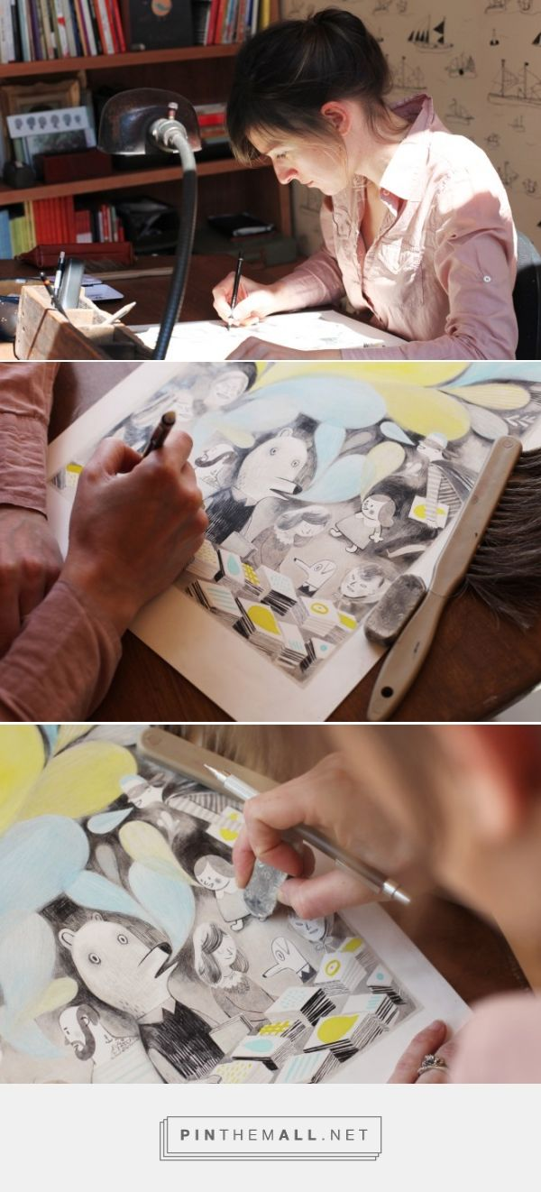 Designing the poster for TCAF 2014 – Isabelle Arsenault, Canada
