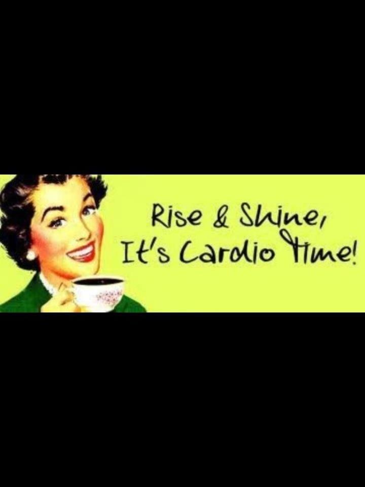 cardio time | Cardio 101 | Fitness, Fitness motivation ...