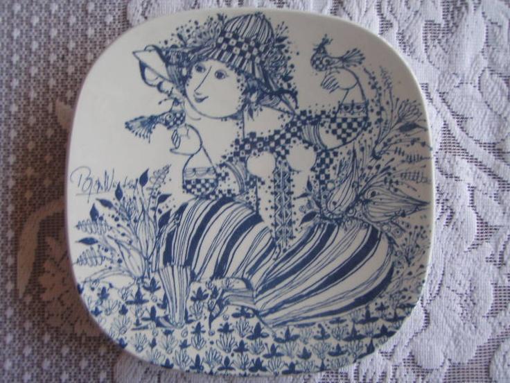 """Bjorn Wiinblad plate """"Sophie"""""""