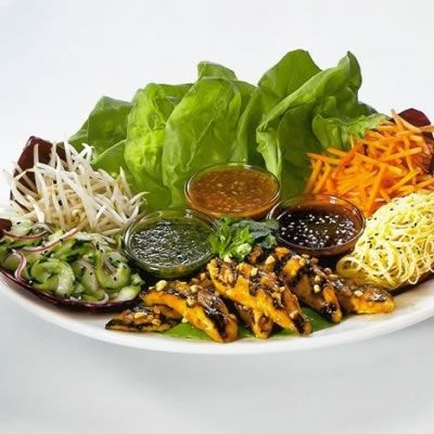 The Cheesecake Factory- Thai Lettuce Wraps. I have been ordering these and only these for the past 5 years
