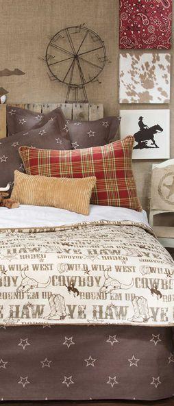 Cowboy Bedding #western