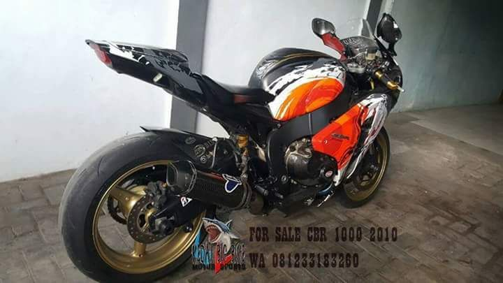 FOR SALE CBR1000RR 2010 NP KM 4000up