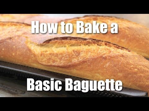 How to make Homemade French Baguette by Hendrik - YouTube