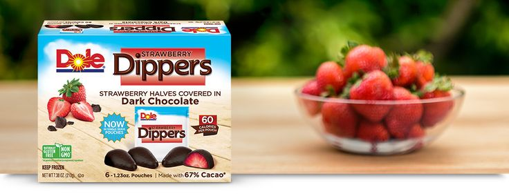 Strawberry Dippers   Products   Dole