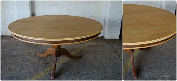 #NorthcliffAntiques Round 70's dining room table. Large round tables from earlier periods are much rarer but tilt top tables are obtainable; the latter's name describes the fact that the table's top folds so that it's upright and may be stored with little trouble. #Johannesburg #DiningRoom #Furniture #LongStreet