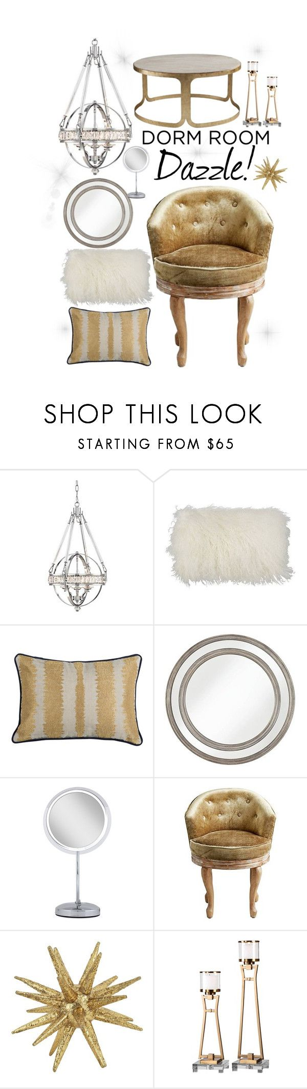 dorm room dazzle by lampsplus liked on polyvore featuring interior interiors - Cyan Home Interior