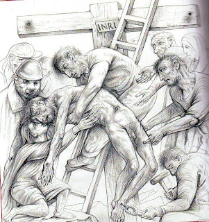 Peter Howson, Jesus is Taken Down from the Cross