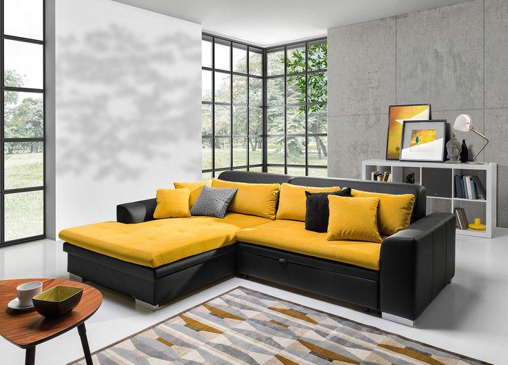 Details zu couchgarnitur couch capri sofa polsterecke for Wohnlandschaft verona