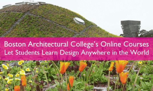 Online Education Strengthens the Learning Experience at Boston Architectural College Landscape Design