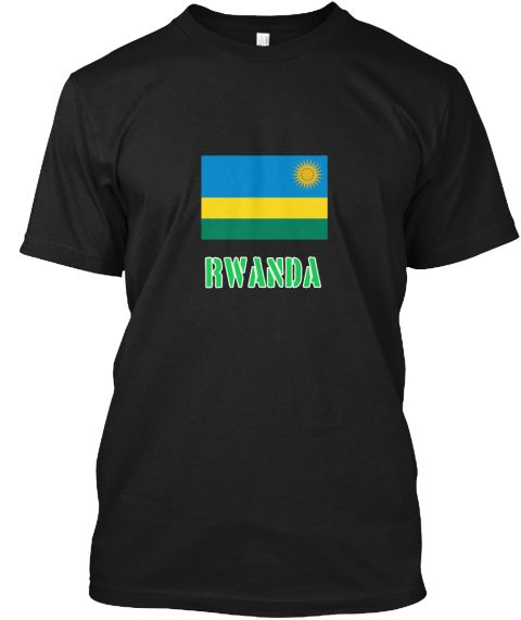 Rwanda Flag Stencil Green Design Black T-Shirt Front - This is the perfect gift for someone who loves Rwanda. Thank you for visiting my page (Related terms: I Heart Rwanda,Rwanda,Rwandan,Rwanda Travel,I Love My Country,Rwanda Flag, Rwanda Map,Rwanda Languag #Rwanda, #Rwandashirts...)