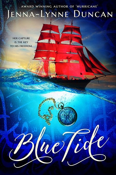 """Mythical Books: """"A brilliant story""""- Blue Tide by Jenna-Lynne Duncan"""