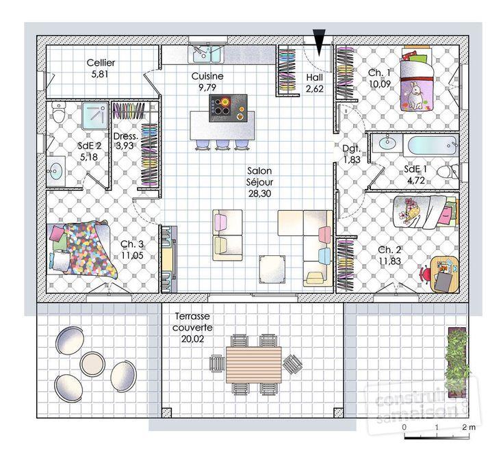 Une Maison De Plain Pied En Corse Maison De Plain Pied Casas