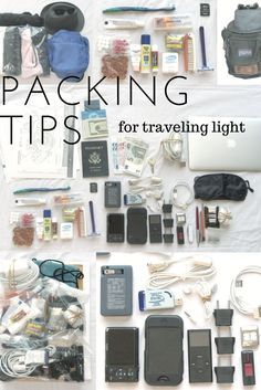 Packing tips for traveling light in the 21st century. Kristan Lawson shares his finely-honed world-travelers' packing list designed to reduce weight and bulk while keeping modern essentials.
