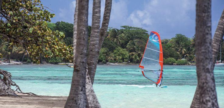 Club Med La Cravelle, Guadeloupe. Activité nautique.