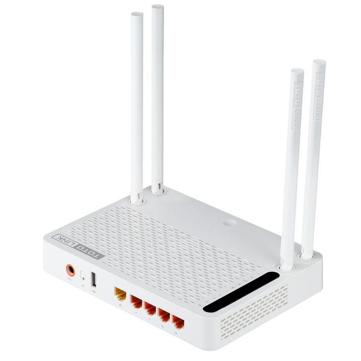 Totolink a3002ru ac1200 wireless dual band gigabit router wifi, Wireless Repeater, WiFi Repeater Dengan Bahasa Inggris Firmware